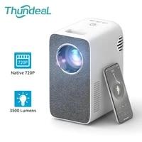ThundeaL     Mini projecteur HD 3500 Lumen TD855  1280x720P  WiFi multiecrans  pour Home cinema  telephone intelligent 3D