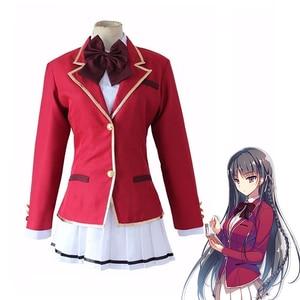 Anime Classroom of the Elite Horikita Suzune Cosplay School Uniform Kikyou Kushida Girls JK Sailor Suit Costumes