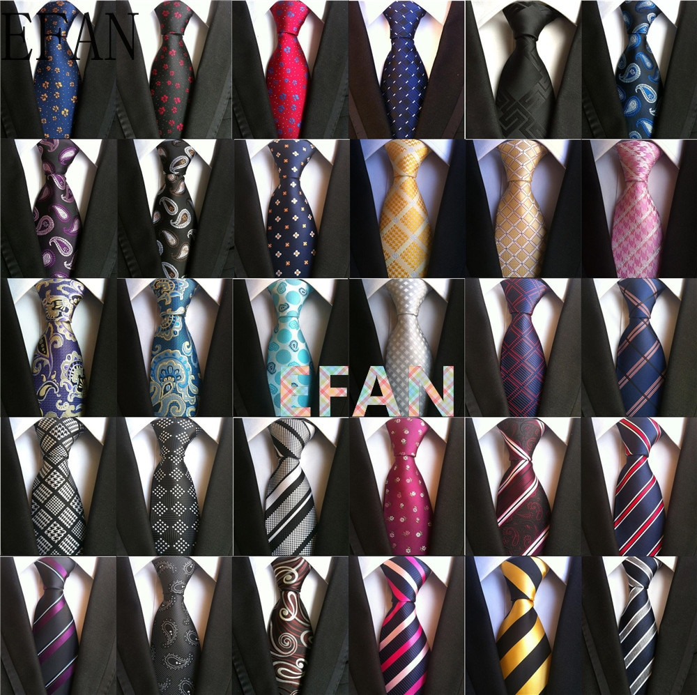 130 Styles Classic 8 Cm Tie for Man 100% Silk Tie Luxury Striped Business Neck Tie for Men Suit Cravat Wedding Party Necktie недорого