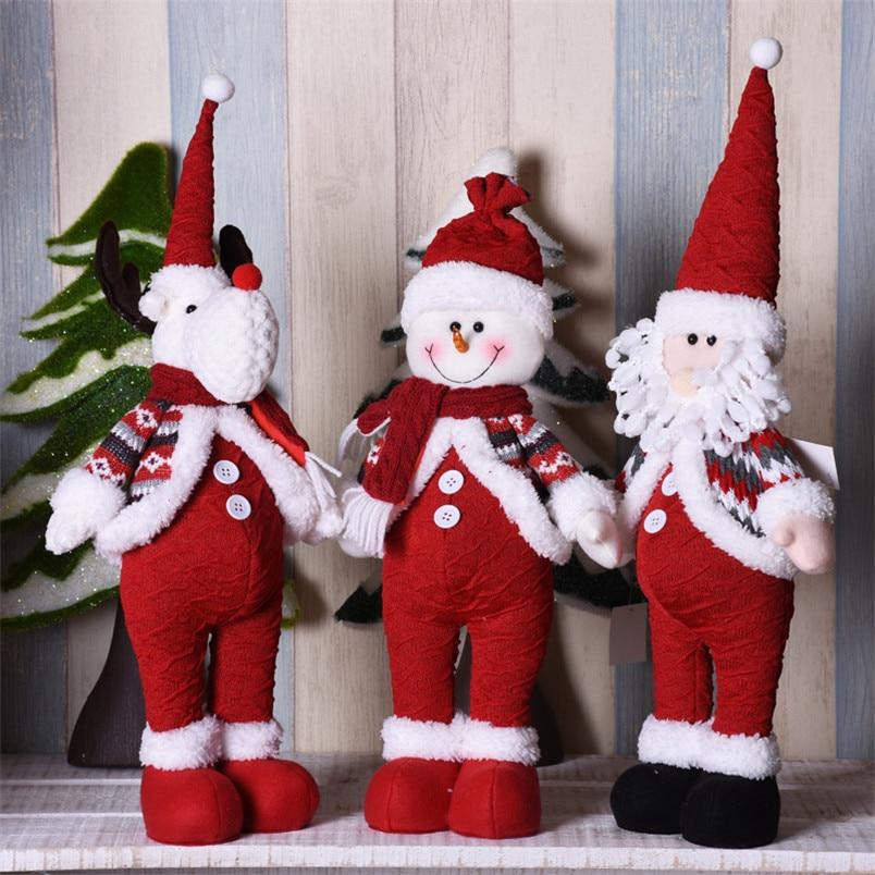 Navidad Santa Claus muñecas Navidad muñeco De nieve figuritas Año Nuevo regalos...