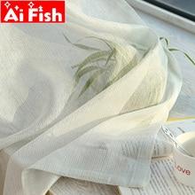 Чистый белый экран, прозрачная ткань, простая современная Блестящая серебряная проволочная полоска, Золотой Тюль, занавеска для гостиной, с...