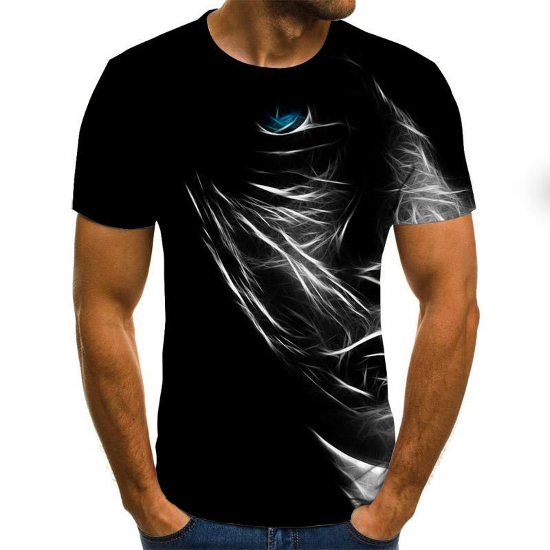 2021 Летние Стильные мужские и женские модные смешные футболки с коротким рукавом повседневные футболки с 3D-принтом