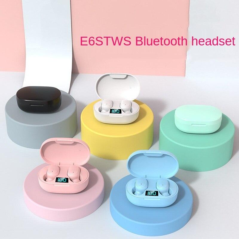 Mini Auriculares TWS inalámbricos por Bluetooth, Accesorios para teléfono móvil, estéreo, a...