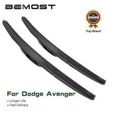 """BEMOST Car Wiper Blades Natural Rubber For Dodge Avenger 24""""+22"""",2007 2008 2009 2010 2011 2012 2013 2014 Fit U Hook Arm"""