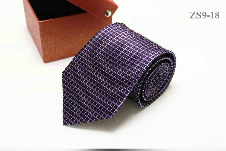 real silk necktie 9CM tie for men customized logo available strips waterproof antifouling 150CM longer