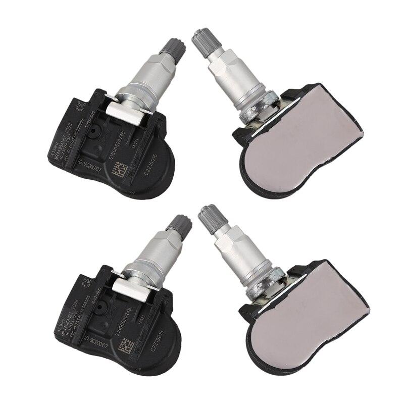 4Pcs TPMS Tire Pressure Monitor Sensor 433MHz C2Z15016 for Jaguar S-Type X-Type XJ 2012-2016