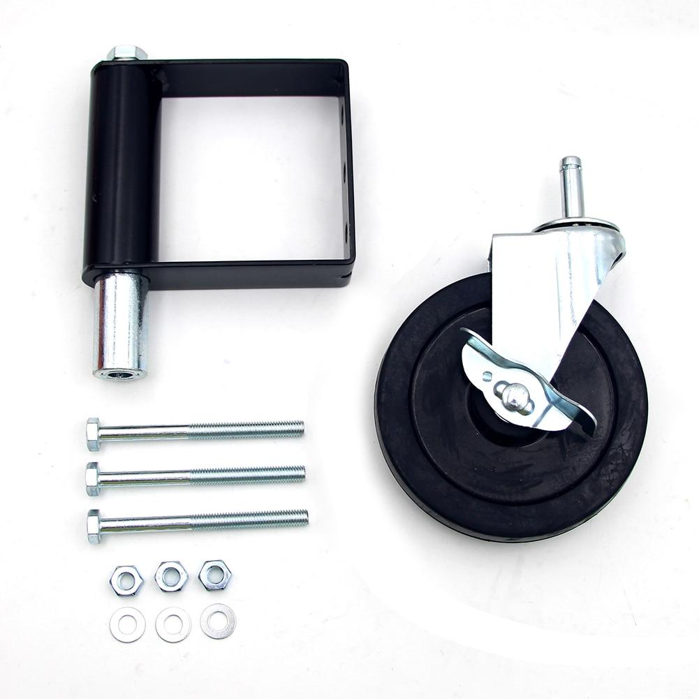 سياج عجلة زنبركية محمل ، أسطوانة منزلقة لعجلة الباب ، سعة تحميل كبيرة ، تمنع بوابة السحب