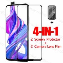 2 protectores de pantalla de vidrio templado para Huawei Honor 9X para Huawei Honor 9X, película protectora para Huawei Honor 9X Glass <