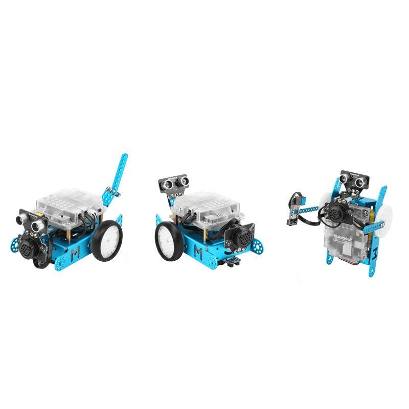 Makeblock Talkative Pet Robot add-on Pack предназначен для mBot, 3-в-1 Robot Add-on Pack, 3 + форм