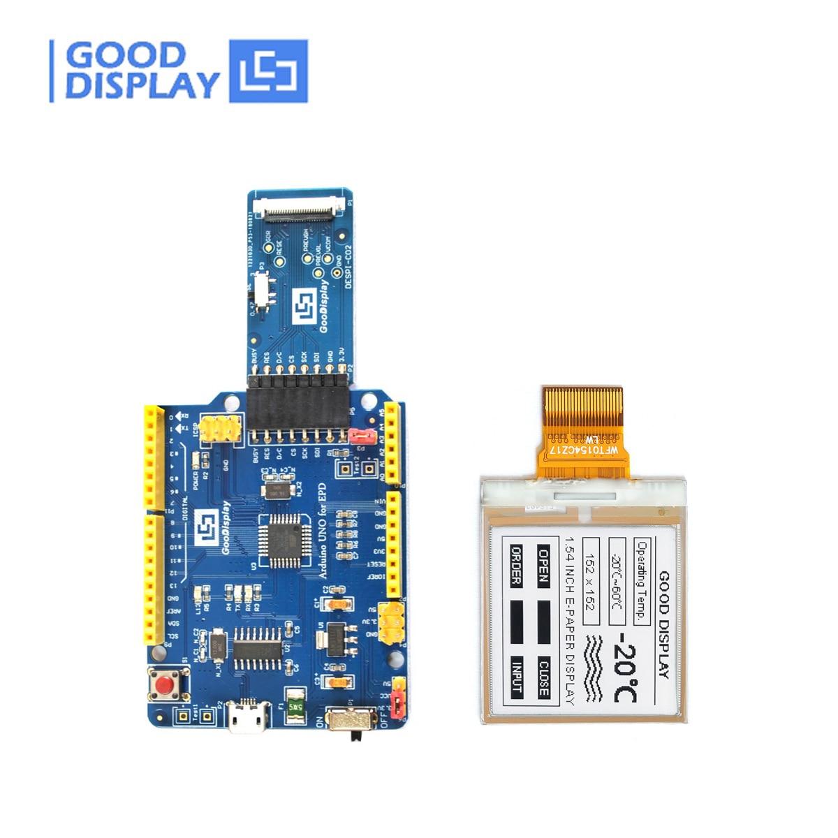 panel-de-tinta-electronica-pequeno-de-154-pulgadas-con-plataforma-arduino-tablero-de-conduccion