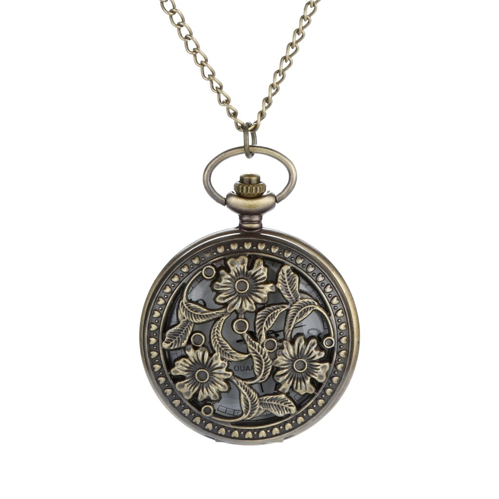 Мужские полые Карманные часы с индивидуальным принтом Карманные часы ретро Кварцевые римские цифры Карманные часы 40 *