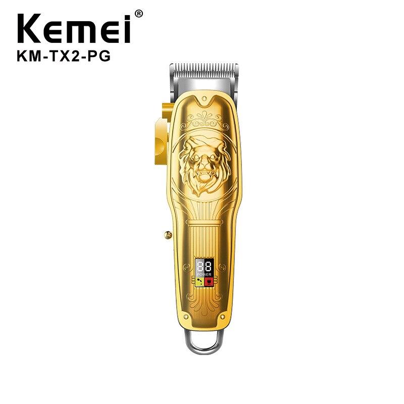 Kemei Metalen Body Kapper Tondeuse Elektrische Scheerapparaat Voor Mannen Trimmer Voor Mannen Maaier