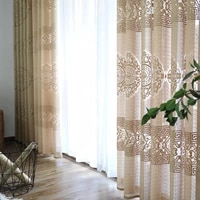 fashionable living room bedroom study balcony curtain chinese style new chinese classical blessing curtain