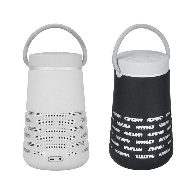 EPULA portátil inalámbrico Bluetooth EVA caja de altavoz que lleva viaje al aire libre Camping bolso a prueba de polvo protector de altavoces de almacenamiento