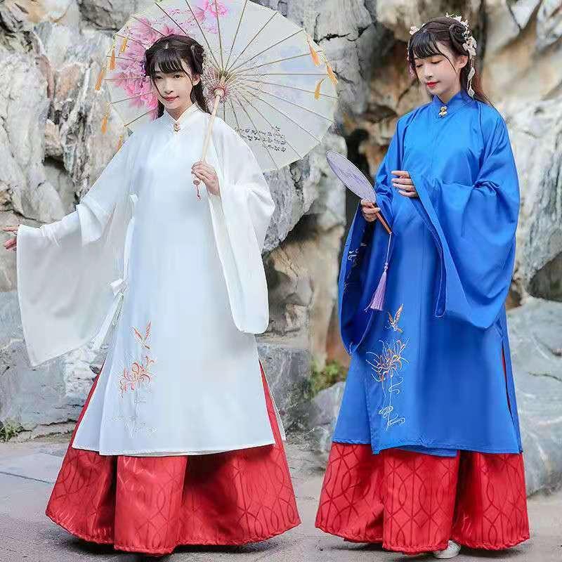 2021 сказочная одежда Hanfu, танцевальная одежда старой династии Мин для косплея, Женская праздничная одежда, традиционная китайская одежда для...