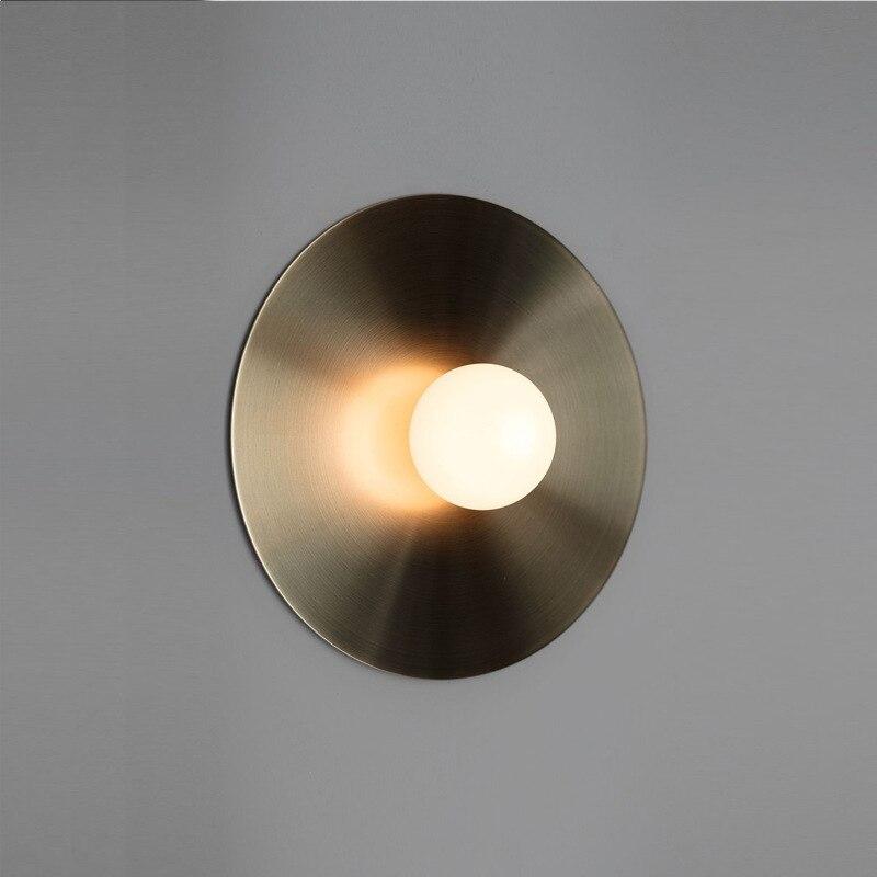 Lámpara nórdica led de piedra aplique, decoración industrial, sala de estar