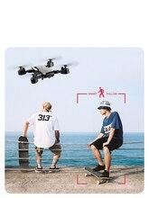 Cuadricóptero FPV WIFI con GPS FOLLOW ME, con 4K/1080P HD, cámara gran angular, plegable, con mantenimiento de altitud, RC Drone duradero