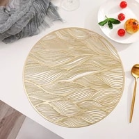 pvc creative hollow oil resistant non slip kitchen placemat coaster insulation pad dish coffee cup table mat home decor 51078