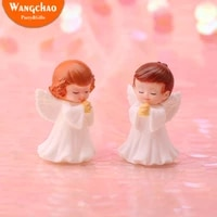 happy birthday decorations angel men and women toy cake baking decoration angel doll baking assembly ornaments birthday dress up