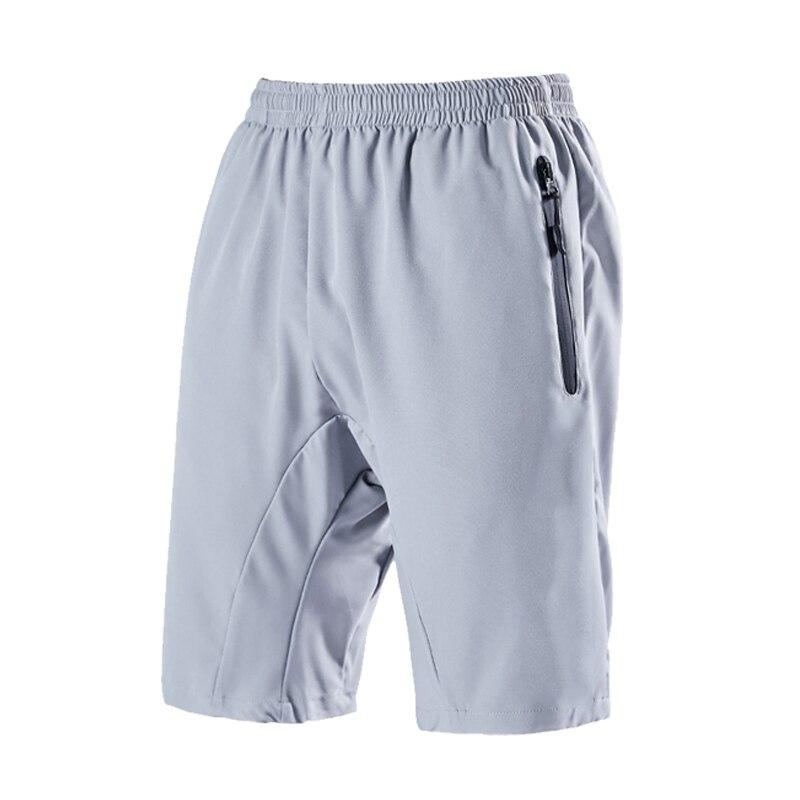 Летние мужские повседневные шорты, одноцветные мужские быстросохнущие шорты, пляжные повседневные шорты, беговые фитнес-шорты, мужские 2021
