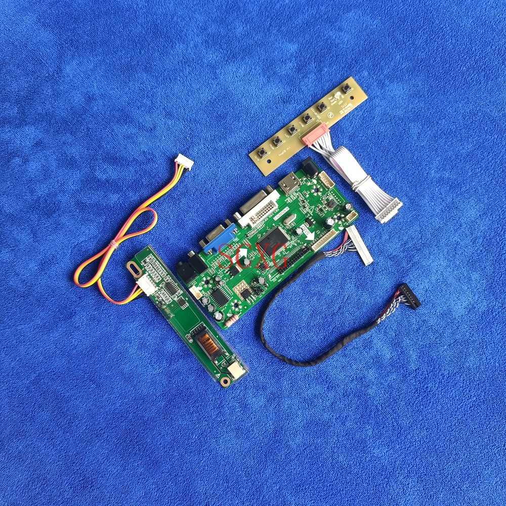 30 دبوس LVDS لتقوم بها بنفسك عدة 1680*1050 متر. NT68676 بطاقة وحدة التحكم HDMI متوافق VGA DVI 1CCFL شاشات كريستال بلورية ل LTN154P1/LTN154P2/LTN154P3