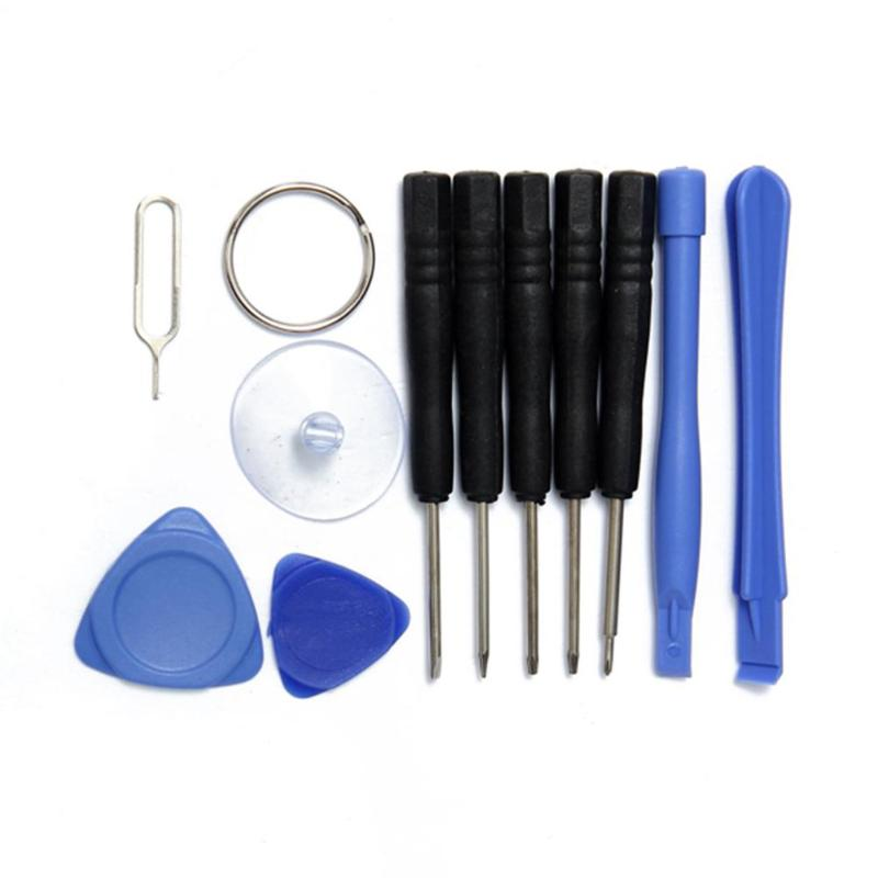 11 в 1, набор инструментов для ремонта сотовых телефонов, Набор отверток для Iphone, Samsung, аксессуары, связки, Herramientas