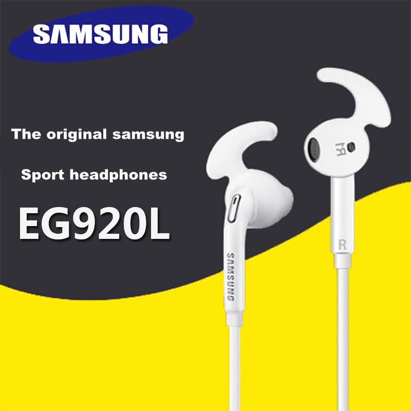 SAMSUNG S7 S7edge EG920L Original-auricular deportivo, intrauditivos con cable de 3,5mm para teléfonos android Galaxy S6/5/4/3/2 Note/3/4/5