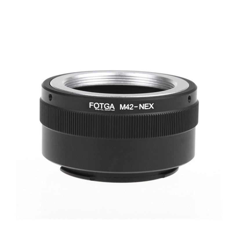 Кольцо-адаптер Fotga M42 для объектива sony NEX E-mount NEX NEX3 NEX5n NEX5t A7 A6000