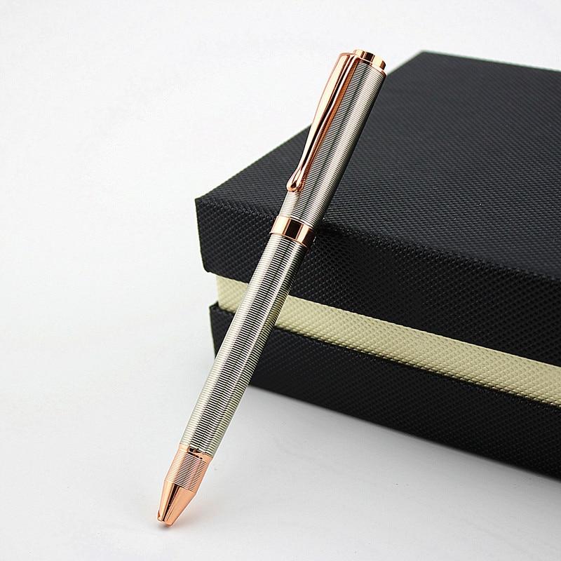 1 шт., Высококачественная деловая металлическая шариковая ручка, китайская Ручка с надписью Wind Hotel, роскошная офисная и школьная шариковая р...