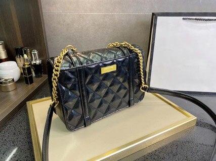 102277-80 المرأة الجديدة كلية نمط ساعي البريد حقيبة يد حقيبة ساعي البريد سلسلة