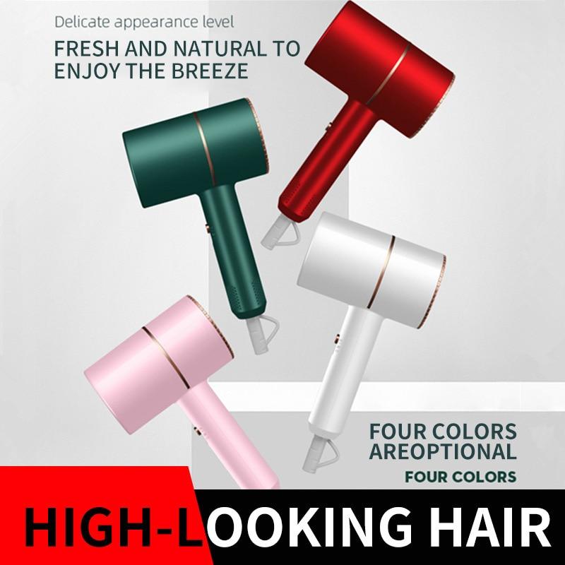 Hair Dryer Household Hair Dryer Heating and Cooling Air Hair Dryer Household Appliances High Power B