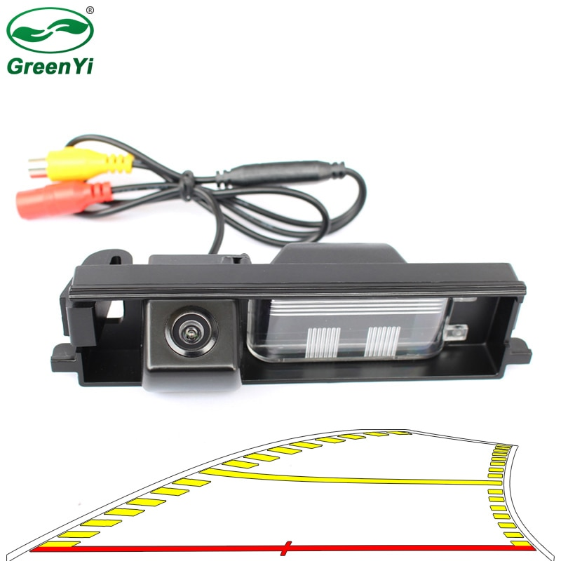 Trayectoria dinámica inteligente pistas cámara de visión trasera cámara de estacionamiento marcha atrás para Toyota RAV4 RAV-4 2000-2012