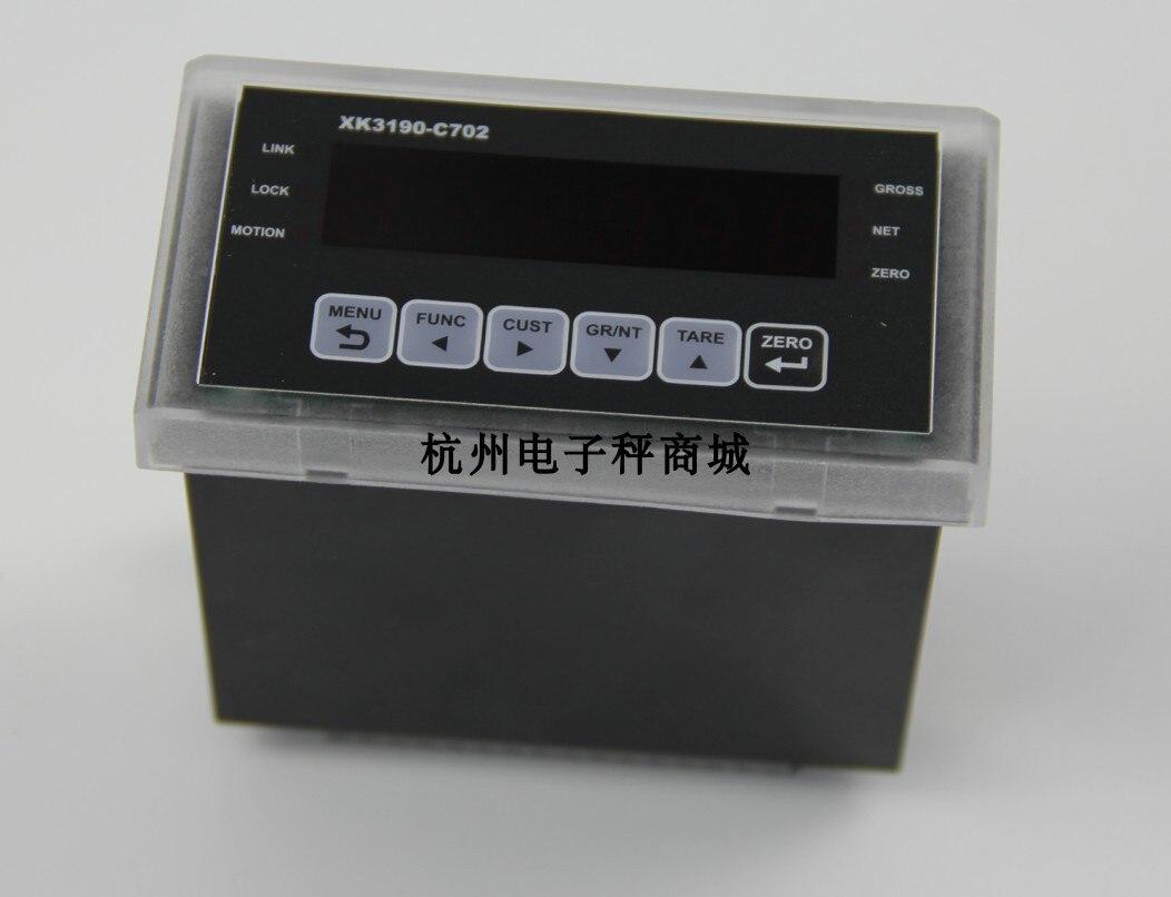 XK3190-C702 أداة التحكم الوزن الارسال PLC الترجيح مؤشر البرمجة المراقب المالي