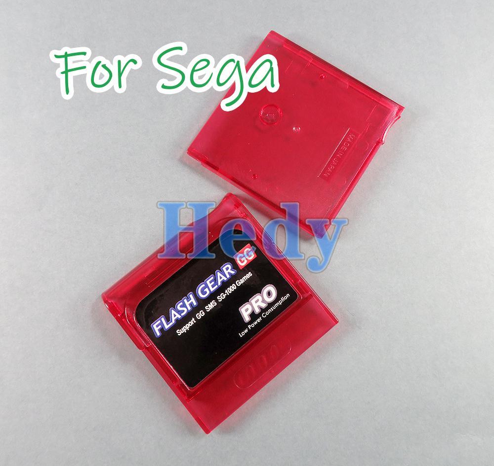 10 قطعة 2021 فلاش لعبة ببطاقات ورقية بطاقة الإسكان شل صندوق علبة ل Sega لعبة والعتاد GG بطاقة خرطوشة مع فتحة دفع MicroSD