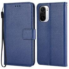 Wallet Flip Case For On Xiaomi Redmi K40 K 40 M2012K11AC 6.67'' Stand Leather Case for Xiaomi K40 Re