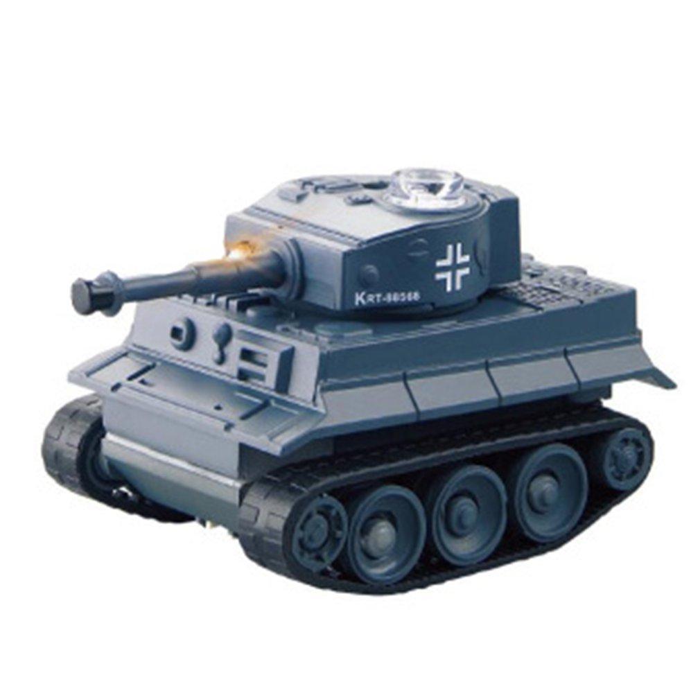 Mini RC Tank Car Radio Remote Control Micro Tank 4 Frequencies Simulation Remote Control Tank Toy Fo