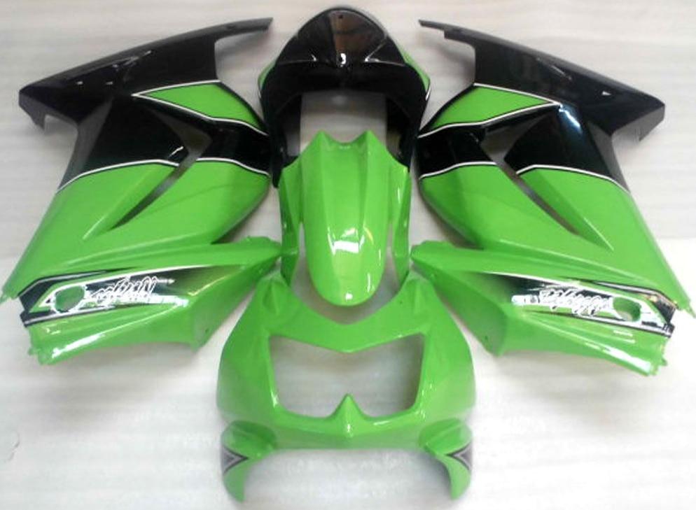 New Injection mold motorcycle Fairing kit for Kawasaki ninja 250r 250 2008-2014 EX250 08 09 10 11 12 13 14 fairings black green