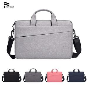 Laptop Bag 13.3 14 15.6 Inch Waterproof Notebook Bag Sleeve Case for Macbook Air Pro 13 15 Shoulder Handbag Briefcase Bags