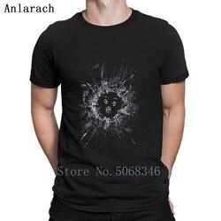 Espelho preto Camiseta T Camisa Carta Camisa Anti-Rugas Cômico S-3xl Primavera Outono Letra Feita Sob Encomenda
