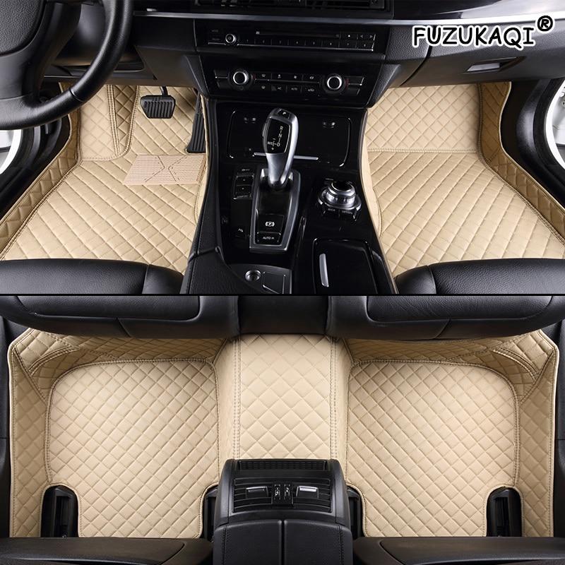 FUZHKAQI make Custom car floor Foot mat For opel antara astra k h j g zafira tourer Vectra car accessories auto leather foot mat
