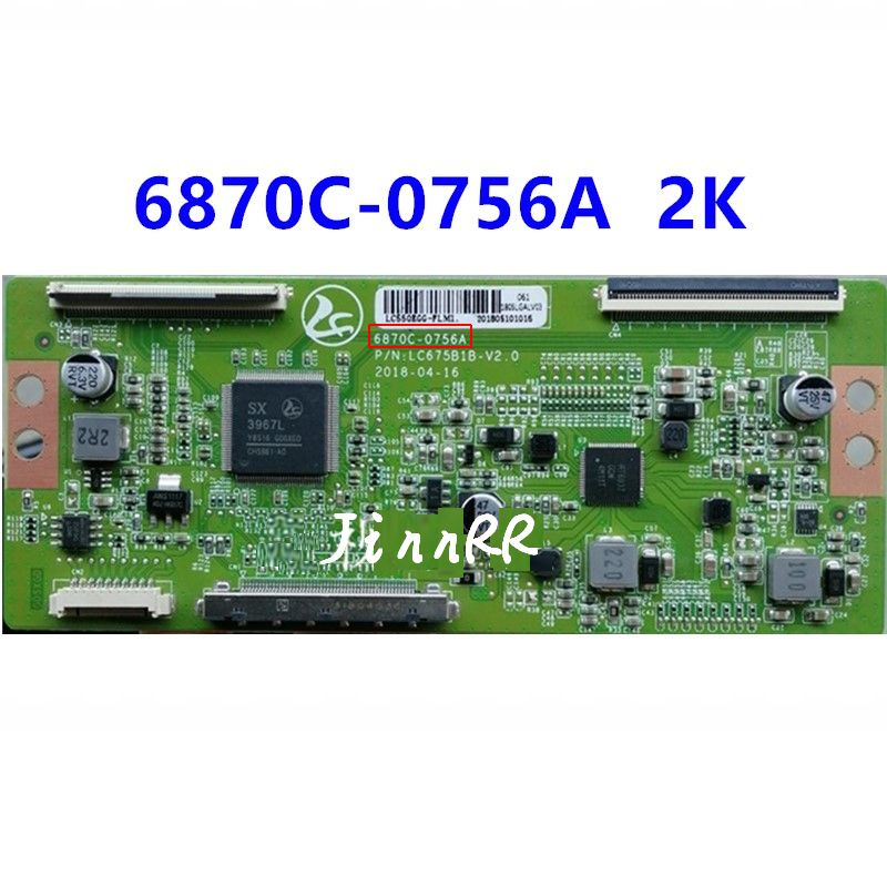 6870C-0756A New original 4K to 2K logic board 6870c-0756a panel LC550EGG-FLM1 good tested in stock 6870C-0756A