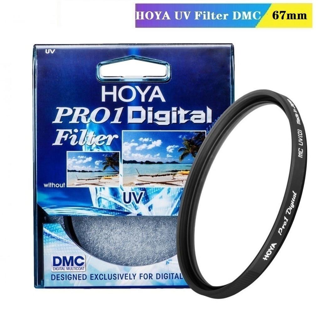 HOYA 67mm Pro 1 Digital UV Filtro de lente de cámara Pro1 D Pro1D UV(O) DMC LPF filtro para Nikon Canon Sony Fuji