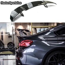 F80 M3 F82 M4 V Style Carbon Fiber Car Styling Rear Trunk lip spoiler Wing for BMW M4 M3 M5 M6 E90 E92 E82