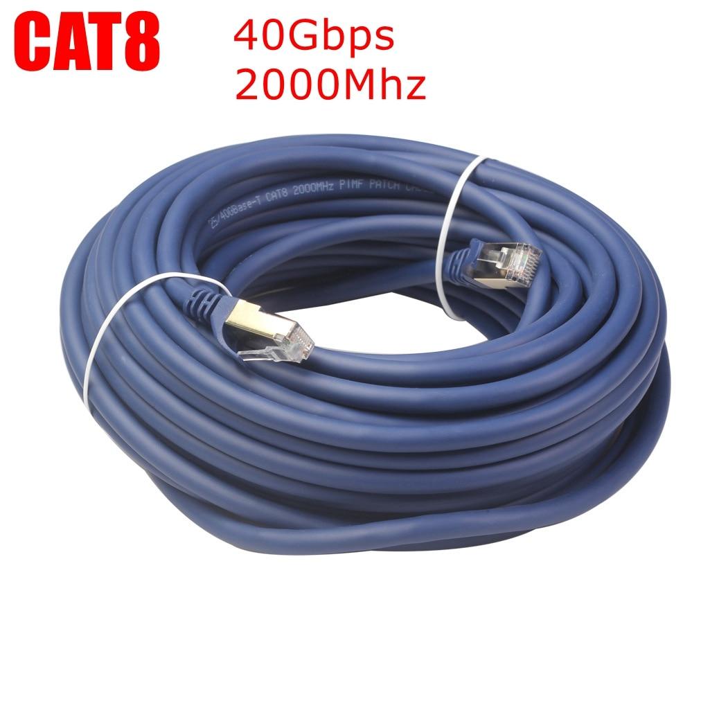 Cable Ethernet Cat5/Cat8, Cable de red RJ45, Cable Lan Cat 5, Cable...