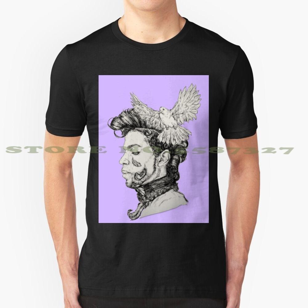 Divertida camiseta de verano con leyenda de la música de la estrella del Rock clásica de Doves Cry, para hombre y mujer