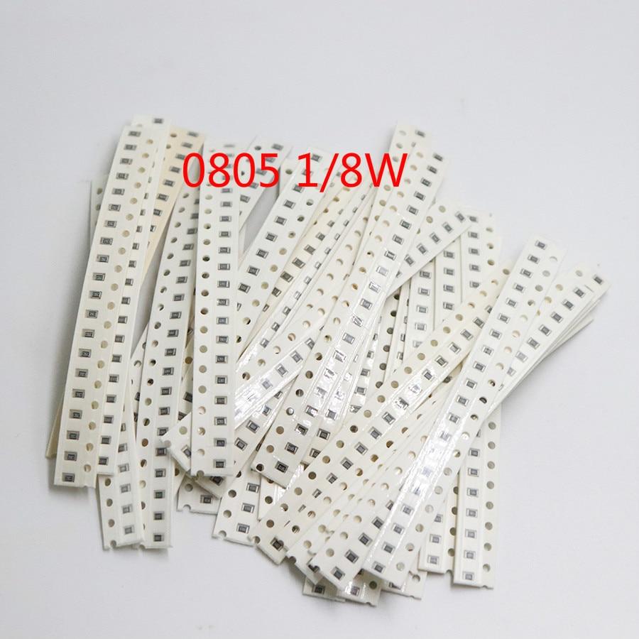 Комплект резисторов 1206 0805 0603 SMD, разные комплекты, 1 Ом-1М Ом 1%, 33 значения X 20 шт. = 660 шт., 1/4 Вт 1/8 Вт 1/10 Вт, комплект резисторов