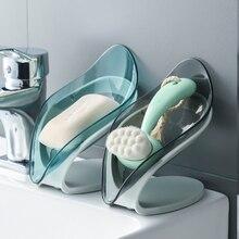 Caja de jabón para el hogar, escurridor de jabón sin perforación, estante doméstico, accesorios de baño