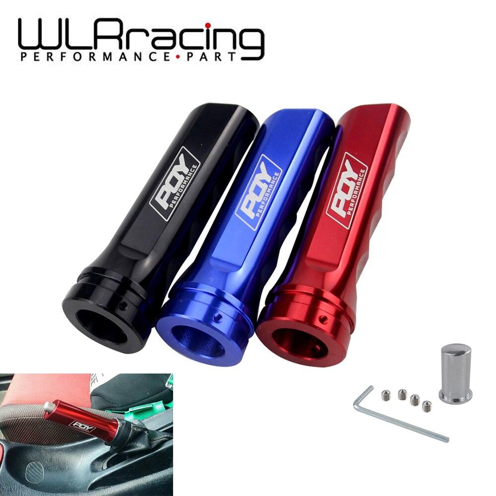 Wlr racing-universal carro de alumínio mão freio manga punho mão protetor capa com pqy adesivo WLR-HBC11