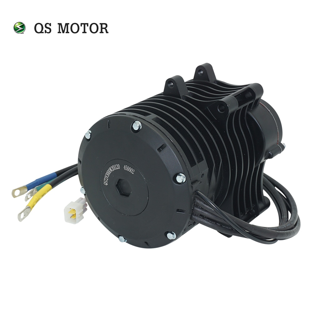 QS Motor 138 3000W Mid Drive Motor V3 70H 5500W Max Continuous 72V 100KPH With EM150-2SP Controller For Electric Motorcycle enlarge