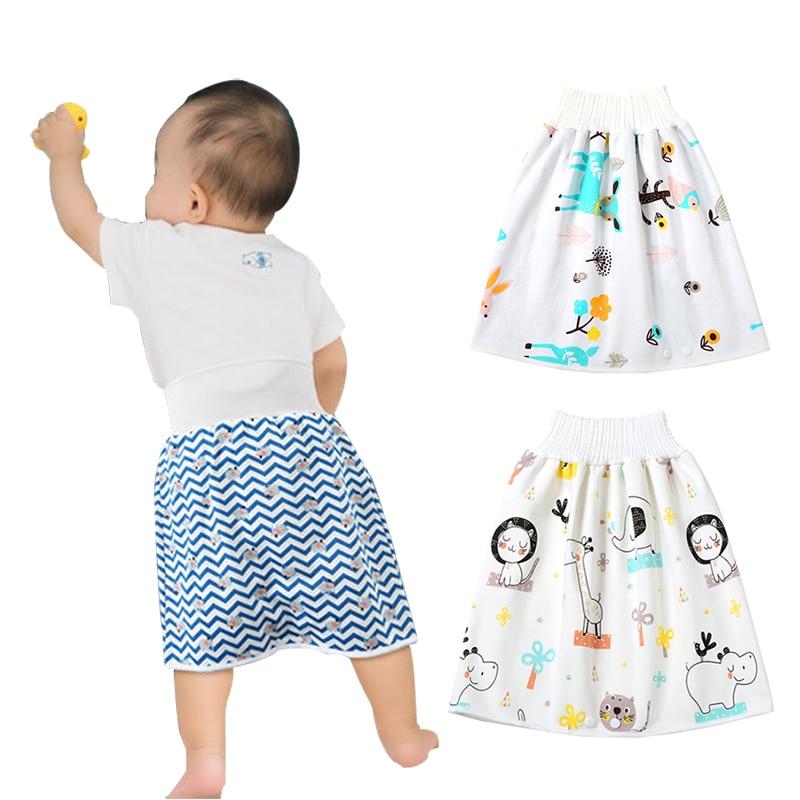 Детские подгузники, юбка, детские штаны, тканевые подгузники, детские шорты для подгузников, юбка, герметичная спальная кровать, Детские тре...